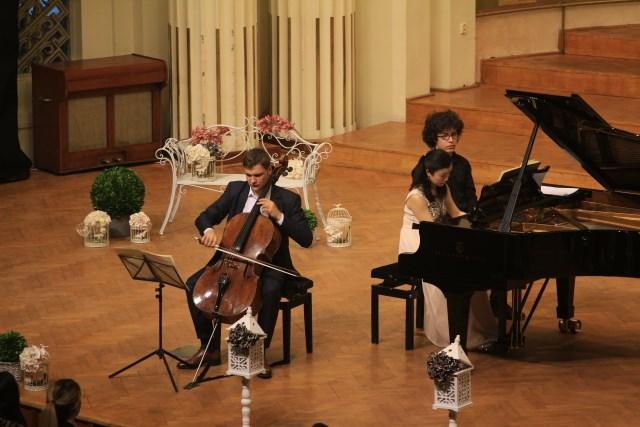 Concert Andrei Ionita si Naoko Sonoda