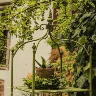 Etajera Romantic Garden Green detaliu