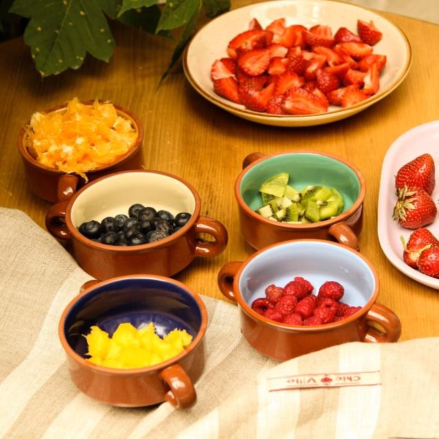 Boluri rustice, salatiera Gardena